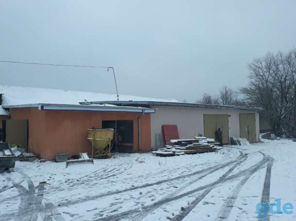 Здание 200м2.  бокс, производство, склад., пер Жданова 3, фотография 1