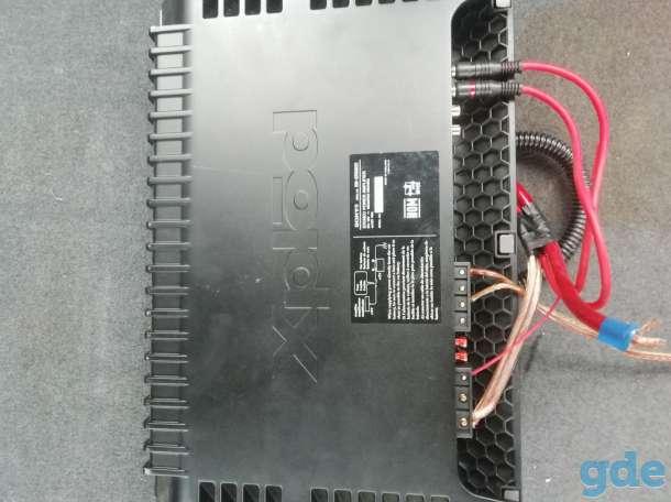 Продам сабвуфер с усилителем и проводами, фотография 3