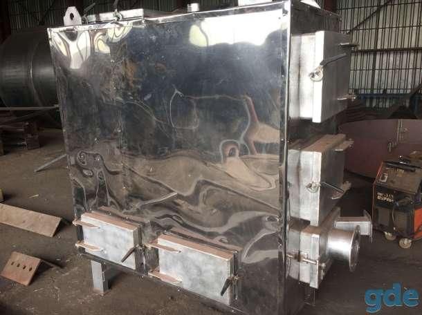 Твердотопливный водогрейный или масленый котёл с автоматической подачей топлива, фотография 2