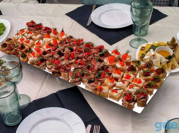 Обслуживание (повар, официант) на корпоратив, банкет, свадьбу, фотография 1