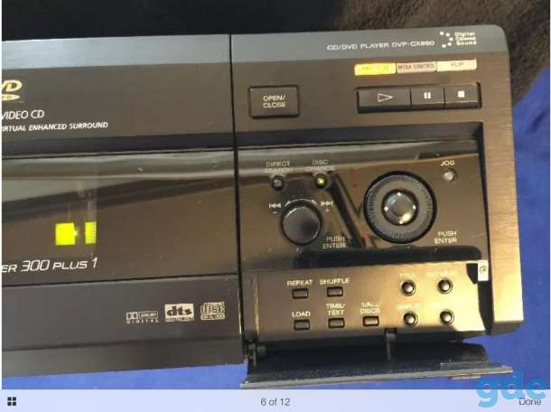 DVD-Player на 301 диск Sony DVP-CX860, фотография 3