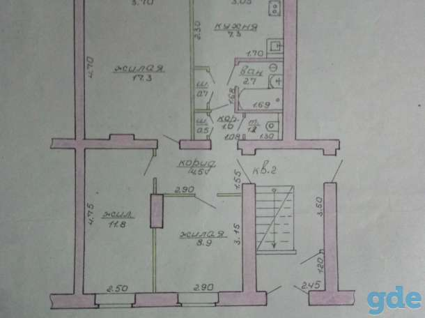 Продажа продам 3 х комнатную квартиру, фотография 1