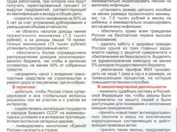 Выборы в Госдуму РФ, фотография 3