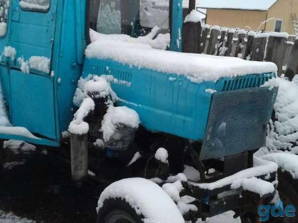 ВНИМАНИЕ!!! Продается самодельный трактор с двигателем от трактора Т-25. Состояние 9/10. В качестве бонуса идет прицеп,, фотография 3
