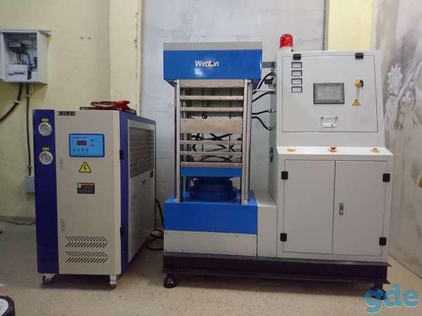 Промышленный термопресс для производства пластиковых карт, фотография 1