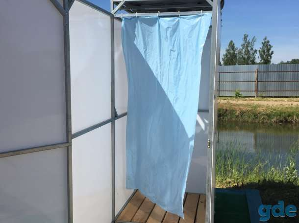 Летний душ для дачи. Бак: 55,110, 150, 200. Доставка., фотография 3