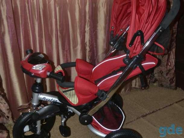 Велосипед- коляска, фотография 2