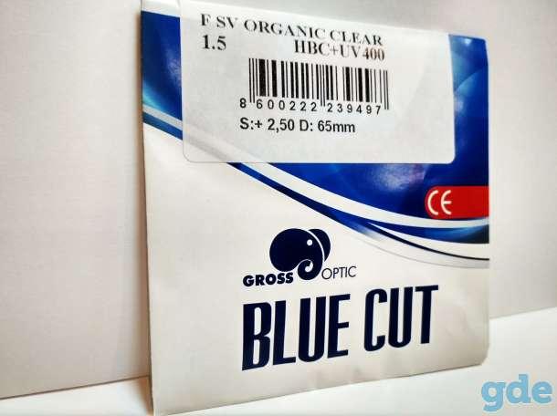 Линзы очковые BLUE CUT(Компьютерные), фотография 2
