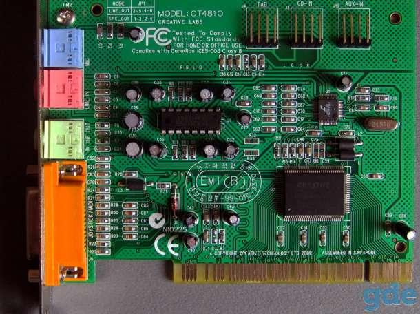 Звуковая карта для Windows XP, фотография 1