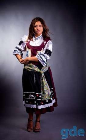 сценические костюмы-школьница СССР,цыганка,ковбой и др., фотография 5