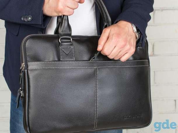 Новая, элегантная мужская сумка, фотография 3