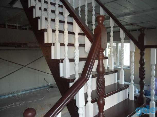 деревянные лестницы, фотография 6