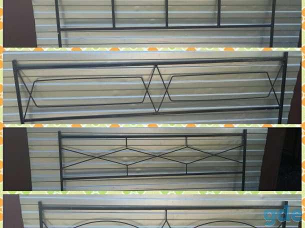Ограда металлическая ритуальная, фотография 8