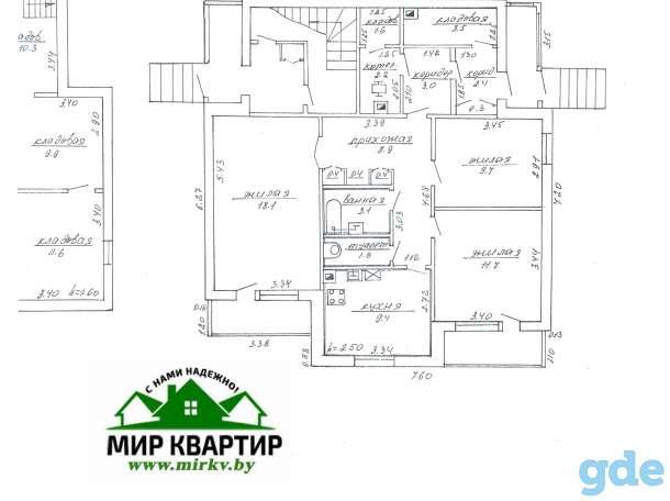 3-х комн.квартира в Докудово 2 около Немана (дог.58/6), фотография 9