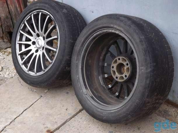 Диски с резиной для BMW R-17 4шт., фотография 2