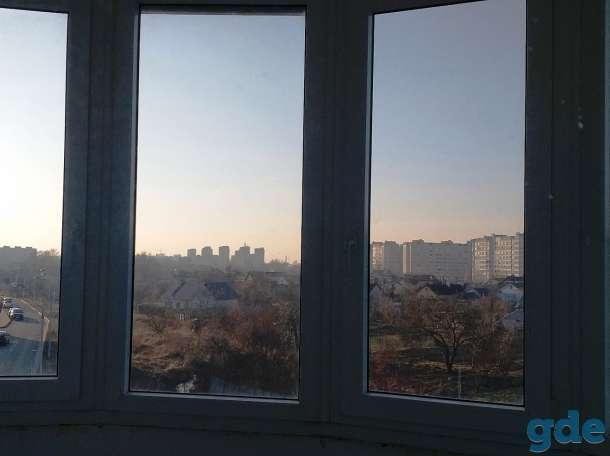 Балконная рама ПВХ на балкон с 5-тью окнами-1шт, б.у, фотография 2