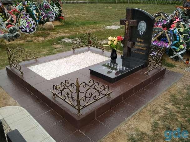 Благоустройства мест захоронения  Памятники, фотография 3