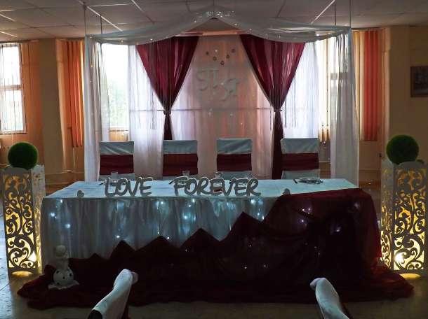 оформление свадебного зала в Кировске, фотография 7