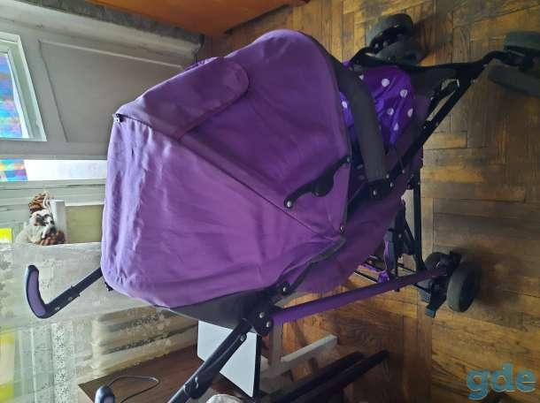 Прогулочная летняя коляска трость, фотография 5