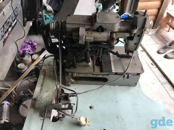 Петельная швейная машина полуавтомат 25 класса, фотография 3