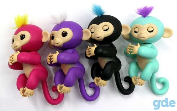 Интерактивная обезьянка Fingerlings новая, в упаковке, фотография 2
