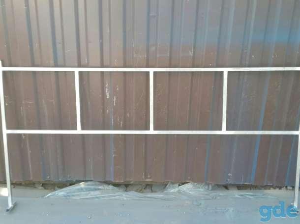 Ограда ритуальная металическая, фотография 4